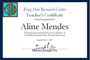 Diploma FSRC Aline Mendes
