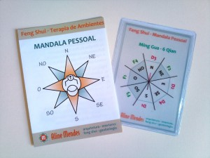 Mandala Pessoal Feng Shui - Transparência